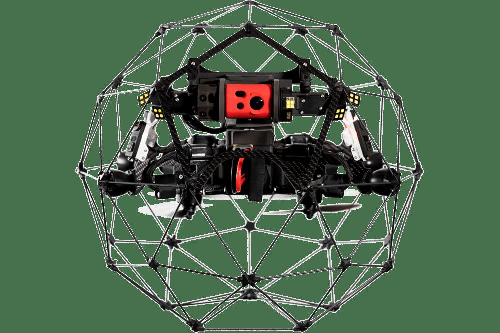 Flyaiblity Elios 2 drone Indoor inspection